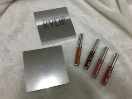 Wholesale stock Kylie Holiday Edition Kit Matte kylie jenner Liquid lipgloss Collection Set For Christmas Gift from idea