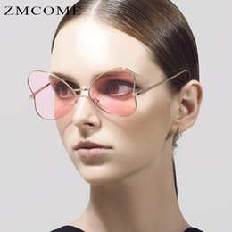 ZMCOME 2017 Butterfly Shapes Sunglasses Women Glasses Alloy Frame Sun Glasses Coating Steampunk Eyewear UV400 Oculos De Sol