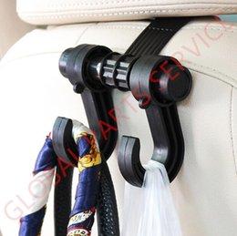 Nouveaux sièges d'automobile à vendre-Nouveau 4Pcs Automobile Multifonction Hook Hanger Convenable siège de voiture Retour Hook Bag Holder Hook Hanger