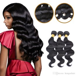 Beauty Hair Products Peruvian Body Wave 3 Bundles 100% Unprocessed Remy Human Hair Weft Extensions Natural Color 50g pc Dyeable