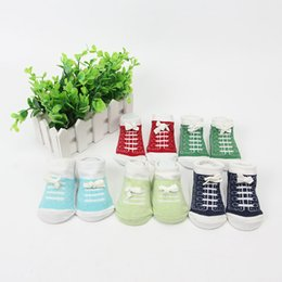 5 Color Infant Cotton Socks Printed With Small Bowknot Shoelaces Baby Socks Baby Socks Fashion And Comfortable