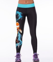 Wholesale 3D digital printing outdoor yoga pants women s leisure fashion sport render pants casual trousers