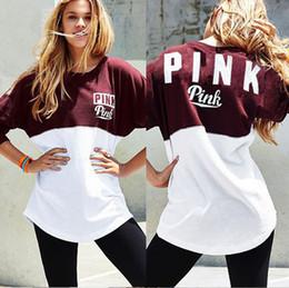 PT11 pink t shirt women punk rock plus size summer tops