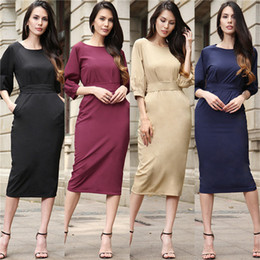 free shipping 2017 new women's dress spring and summer selling models Slim dress fashion ladies