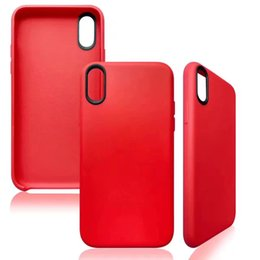 For Iphone X Edition 5.8 Pu Matte Soft Back Cover Offical Silicone tpu classical Leather Case For iphone 6 7 plus New Apple case