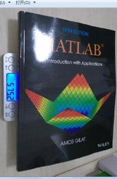 Wholesale 2017 new arrival hot sale books MATLAB An Introduction with Applications