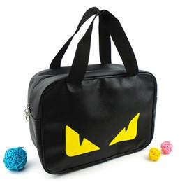 Women Beach Canvas Bag Cosmetic Bag Fashion Color Portable Handbags Makeup Tools cosmetics storage bag travel