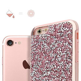 for iPhone x 6Plus 7plus Samsung s8 note 8 New Fashion Blingbling cases 2 in 1 Luxury Diamond Protective Case Free Shipping