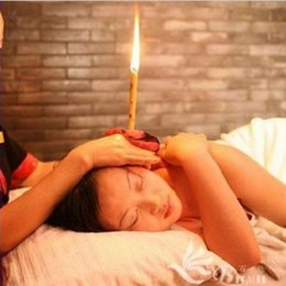 DHL Free Shipping wholesale 2000pcs(1000pair) lot Aromatherapy Ear Candle Detox Ear Candle Pure Essential Oil