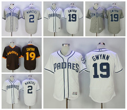 johnny manziel jerseys Promotion Tony Gwynn homme San Diego Padres Jerseys 19 Tony Gwynn Throwback 2 Johnny Manziel jerseys à base de baseball Best Quality Mix Order