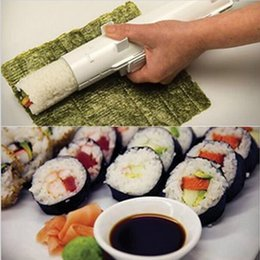 Wholesale DIY Home Sushi Bazooka Camp Chef Sushezi Roller Kit Sushezi Best Selling Cooking Tools Fashion Easy to Use Sushi Tools Cheap Sale