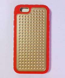 Clips de bolsas en venta-Para el iPhone 7 Plus 6 Plus Círculo de doble capa de silicona para PC Cinturón de color negro resistente a prueba de choques Defensor protector híbrido Clip de cinturón negro Bolsa Opp