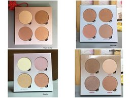 Factory Direct DHL Free Shipping New Makeup Face 4 Colors Bronzers & Highlighters Palette!7.4g