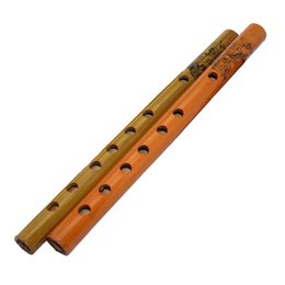 2017 g traditionnel Wholesale-Xiao, instruments de musique traditionnels chinois Nature fishscale bamboo clarionet SS g traditionnel autorisation