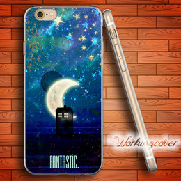 Coque Tardis Doctor Who Soft Clear TPU Case for iPhone 6 6S 7 Plus 5S SE 5 5C 4S 4 Case Silicone Cover.