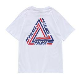 Asian Size 2017ss Spring Summer High Quality Palace T Shirt Men Women Tops Hip Hop T Shirt Black White Tee Palace Skateboard T-shirts Men