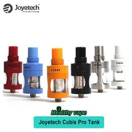 Promotion gros joyetech Original Joyetech Cubis Pro Atomizer 4.0ml Inclure LVC Liquid Control Coil VS SMOK TFV8 VS Nautilus X En gros Cubis Pro Tank