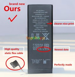 Wholesale Best Quality Built in Internal Li ion Replacement Battery For iphone S S S C G S Plus mah mah mah In stock AAAAA