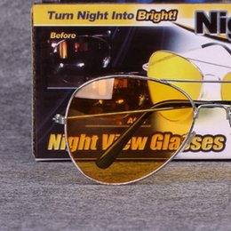 Wholesale Night View NV Luminous Polarized Light Glasses Vision Goggles Anti Glare Special Drive Snooper Scope Driver Use Turn Into Bright nf