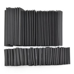 320pcs 8 Sizes Assortment Heat Shrinkable Tube Shrink Tubing Sleeving Wrap Wire Cable Kit