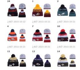 Wholesale 2017 new DALLAS Football Beanies Team Hat Winte Rrugby Caps Popular Beanie Caps Skull Caps Best Quality Women Men Sports hat