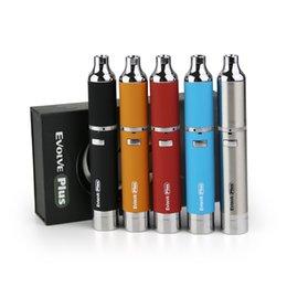 Yocan Evolve Plus Kit Clone 1100mAh Battery Quartz Dual Coil QDC E Cigarette Kits Wax Vaporizer Pen DHL free