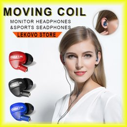 Wholesale W1 Pro Earphone Plug in Sports Headphones HIFI Music Audio Phone Headset In ear Headphones Technology with Retail Package via