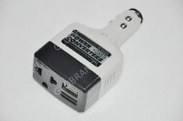 2017 12v ac chargeur Llfa08 Livraison gratuite DC 12V à AC 220V auto voiture convertisseur inverseur adaptateur chargeur avec charge USB bon marché 12v ac chargeur