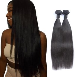 8A Peruvian Remy Straight Hair Cheap Unprocessed Human Hair Bundles Factory Indian Malaysian Hair Weaves Extension Double Weft