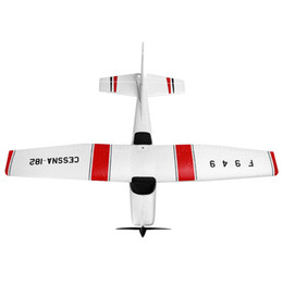 Wholesale WLtoys F949 Mini RC Airplanes Cessna Mode2 G CH RC Aircraft Fixed wing RTF Airplane Easy to Carry
