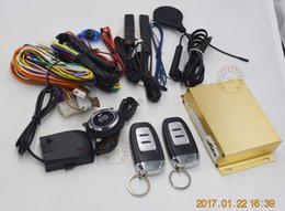 Descuento sistema de alarma a distancia un coche Botón de impresión tarjeta RFID coche sistema de alarma PKE coche de alarma RFID llave inteligente bloqueo o desbloquear automáticamente remoto inicio empuje botón de inicio
