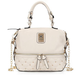 Wholesale Lady Kim kardaschian kollection kk shoulder bag handbags women rivet fashion bucket gold chawomen chains single shoulder bag handbag