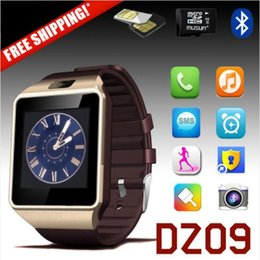 Universal Smartwatch Wristwatch New DZ09 Bluetooth Smart Watch Bracelet SIM Card For Apple Iphone 7 6s Samsung IOS Android Cell Smart phone