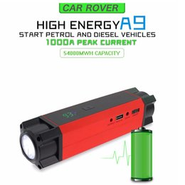 New Auto power bank 14800mAh car jump starter 12v emergency portable car battery charger booster Multi-function car starter
