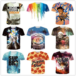Wholesale new mens summer tops clothing D print retro style Jesus Egypt floral flowers novelty skull t shirt t shirts tees