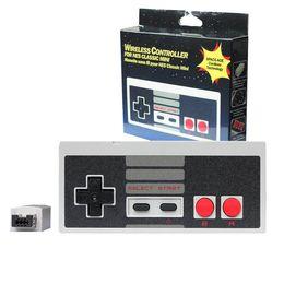 Controladores inalámbricos para NES CLASSIC MINI Joysticks Bluetooth Juego Gamepad controlador con Wrireless receptor para IOS Android PC desde pc joystick fabricantes