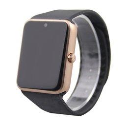 2017 apple iphone montres intelligentes GT08 Bluetooth Smart Watch avec fente pour carte SIM et NFC Health Watch pour Android Samsung et IOS Apple iphone Bracelet Smartphone Sma 0509020 apple iphone montres intelligentes sortie