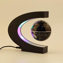 Promotion flotteurs électroniques Grossiste-Electronique Lévitation magnétique flottant Globe antigravité magie / lumière nouvelle cadeau d'anniversaire Décoration de Noël Décor Santa Accueil