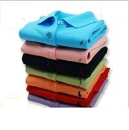 Wholesale Large in stock size M xxl Good quality women s polo sleeve t shirt for men to all over the world