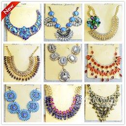 Wholesale Chain High Grade Steel - High-grade diamond necklace euramerican Fashion short gem collarbone pendant necklace for women