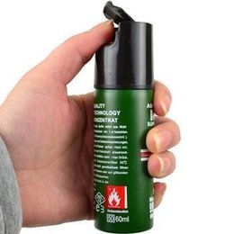 Wholesale Hot Sell NEW NATO CS GAS defensive perfume sprayer Pepper spray defender of Women Men Security ML Best Price Free give away gift
