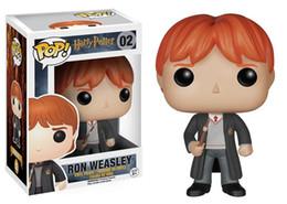 Original! funko pop filmes: harry potter ron weasley action figure vem com caixa