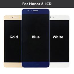 Promotion nouveaux écrans lcd Pour Huawei Honneur 8 Ecran LCD + Ecran Tactile 100% Nouveau Numériseur Assemblage Remplacement Pour Huawei Honneur 8 5,2 pouces