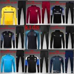 Wholesale new psgreal Madrid tracksuit quality training benzema James bell children juve atletico Madrid Chelsea football