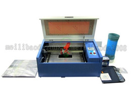 Wholesale NEW w Desktop co2 mini laser Engraver CNC Cutting Machine for wood Leather Acrylic etc with USB Support MYY