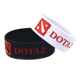 Wholesale Wide Band DOTA Silicon Wristband Perfect To Use In Any Benefits Gift For Gamer