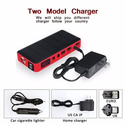 New Arrive 26000mAh Car Jump Starter Power Bank 12v Emergency Car Battery Charging Units Booster Multi-function Car Jump Starter