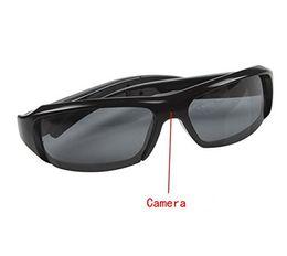 Enregistrement vidéo cachée à vendre-32Go HD 1080p caché lunettes vidéo enregistreur lunettes de soleil espion caméra enregistreur DVR lunettes caméscope portable