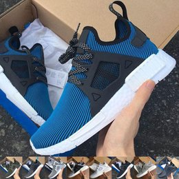 Wholesale With Original Box High Quality Cheap NMD XR1 Men And Women Glitch Black White Blue Camo Adult Kids Children Sport Running Shoes