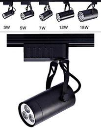 Wholesale 3W W W W W Modern Adjustable Track Light Ceiling Down Lamp Spotlight Black Shell